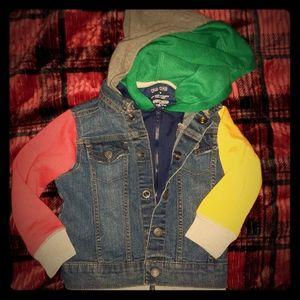 Members Only Club Jacket Colorblock 1 of a kind!